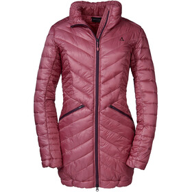 Schöffel Antersas Thermo Parka Women, red moscato